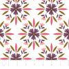 Quilting Fabric Yardage - Captivate Mosaic in White by Alisse Courter for Camelot Fabrics (100% Cotton, Quilting Fabric)