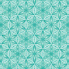 Quilting Fabric Yardage - Transformation Flower of Life Turquoise by Sarah Vedeler for Contempo Benartex (100% Cotton, Quilting Fabric)-The Clever Quilt Shoppe
