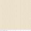 Botanique Criss Cross Cream by Lila Tueller Designs for Riley Blake (100% Cotton, Quilting Fabric)