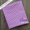 White Honeycomb Dot on Hot Pink for Riley Blake Designs Basics-The Clever Quilt Shoppe