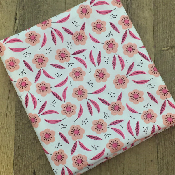 Quilting Fabric Yardage - Captivate Tonal in Pink Chai by Alisse Courter for Camelot Fabrics (100% Cotton, Quilting Fabric)