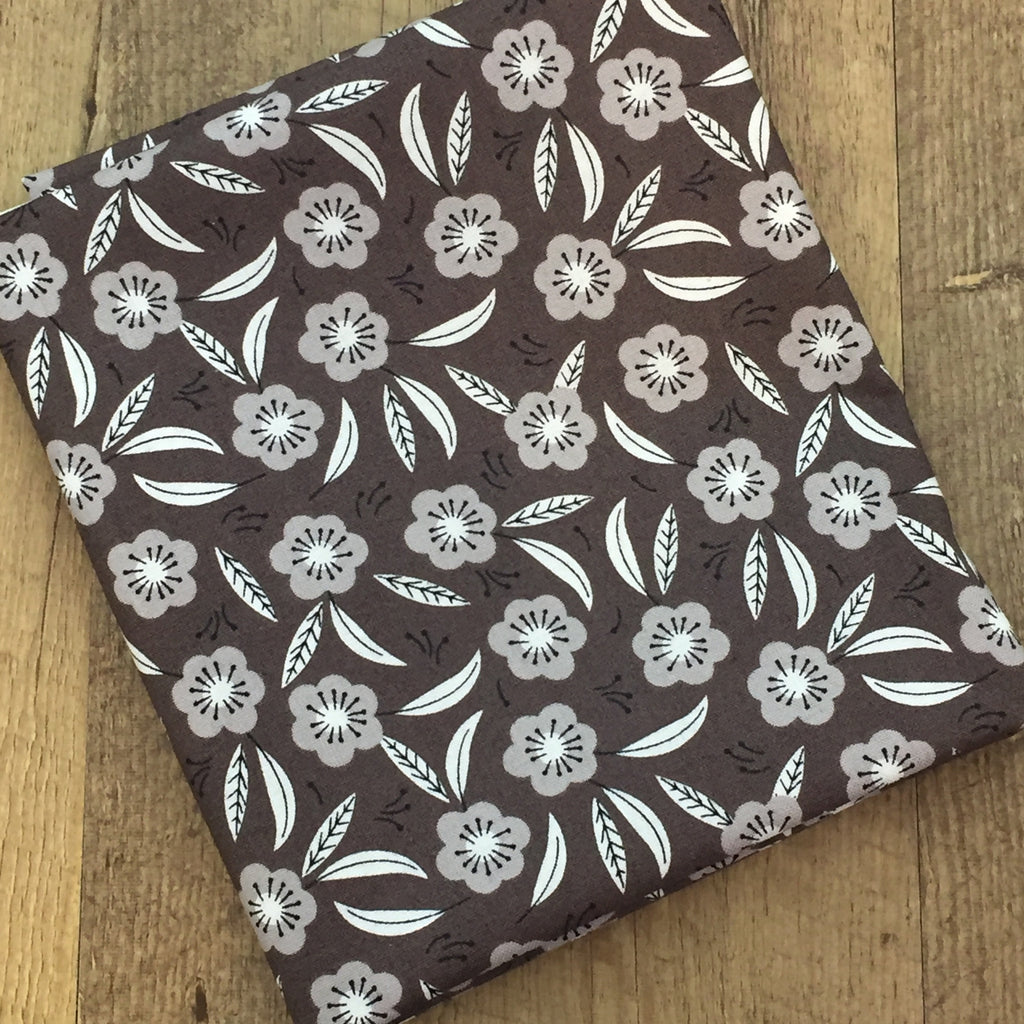 Quilting Fabric Yardage - Captivate Tonal in Dark Taupe by Alisse Courter for Camelot Fabrics (100% Cotton, Quilting Fabric)-The Clever Quilt Shoppe