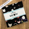 Charm Pack Squares, Meow, Riley Blake Designs, My Mind's Eye-The Clever Quilt Shoppe