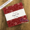Charm Pack Squares, Project Red, Moda, Sweetwater-The Clever Quilt Shoppe