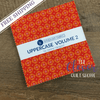 "Charm Pack, 5"" Squares, Windham, Uppercase Vol. 2, Janine Vangool, 42 pcs, Precut Quilting Fabric"