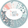 Jungle Friends Pink / Gray, Wild One, Andrea Turk, Camelot Fabrics, 100% Cotton Quilting Fabric