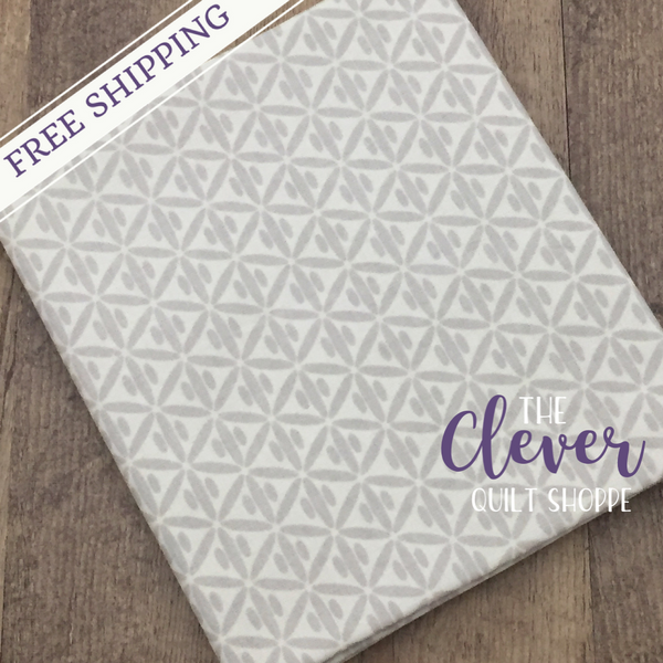 Botanique Criss Cross Cream by Lila Tueller Designs for Riley Blake (100% Cotton, Quilting Fabric)-The Clever Quilt Shoppe