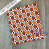 Keep on Groovin' - Wallpaper Orange - by Sugar Sisters for Riley Blake Designs (Yardage, 100% Cotton)