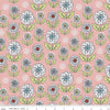 Quilting Fabric, Dutch Garden Pink, Betz White, Riley Blake Designs (100% Cotton)
