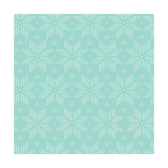 Meadow, Stitch Mint (Green), Camelot Fabrics (100% Cotton Quilting Fabric, Yardage)-The Clever Quilt Shoppe