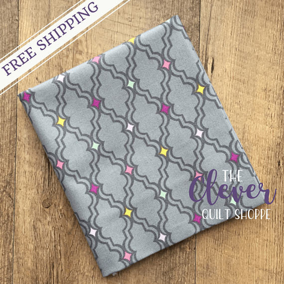 OhGee in Gray, My Gray or the Highway, Jack!e, Camelot Fabrics, 100% Cotton Quilting Fabric Yardage-The Clever Quilt Shoppe