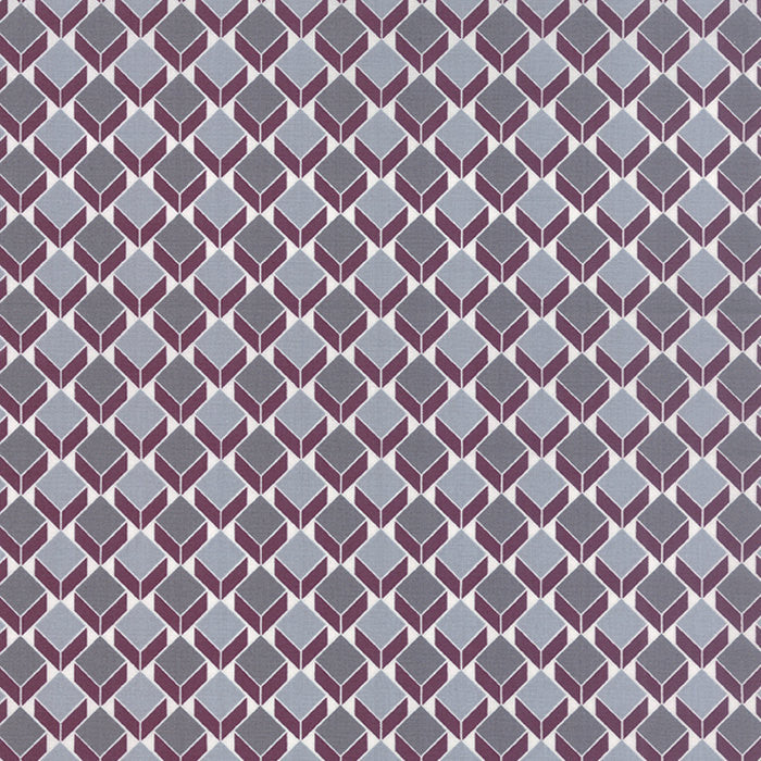 Chic Neutrals - Maroon Blocks by Amy Ellis for Moda (100% Cotton, Quilting Yardage Fabric, Basics, Backing)