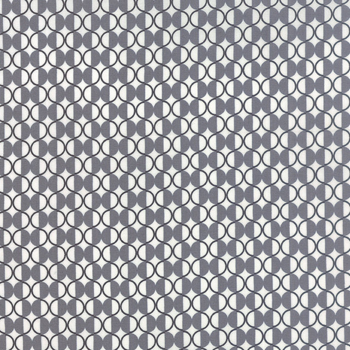 Quilting Fabric by the Yard - Chic Neutrals - Black and Gray by Amy Ellis for Moda (100% Cotton, Quilting Yardage Fabric, Basics, Backing)