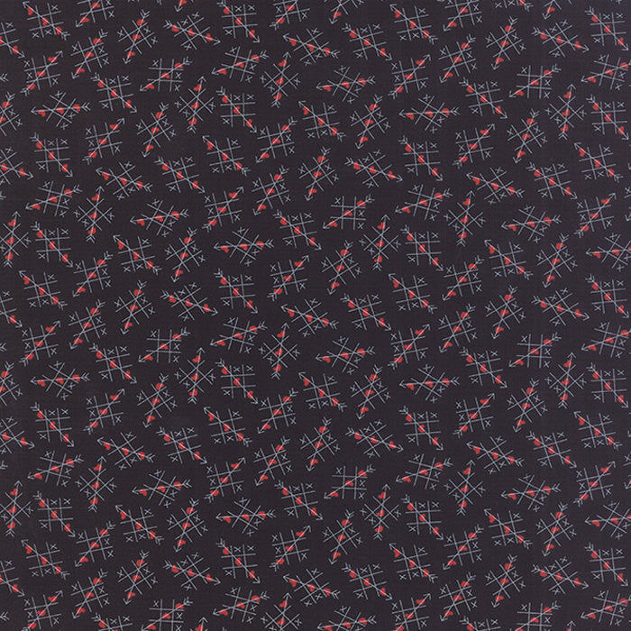 First Crush Black by Sweetwater for Moda (100% Cotton, Quilting Fabric Yardage)