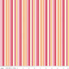 Fine & Dandy - Stripe Pink - by Lori Whitlock for Riley Blake Designs (Yardage, 100% Cotton)-The Clever Quilt Shoppe