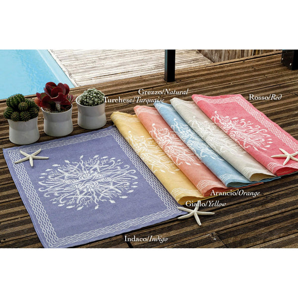 <transcy>CORAL REEF TEA TOWEL</transcy>
