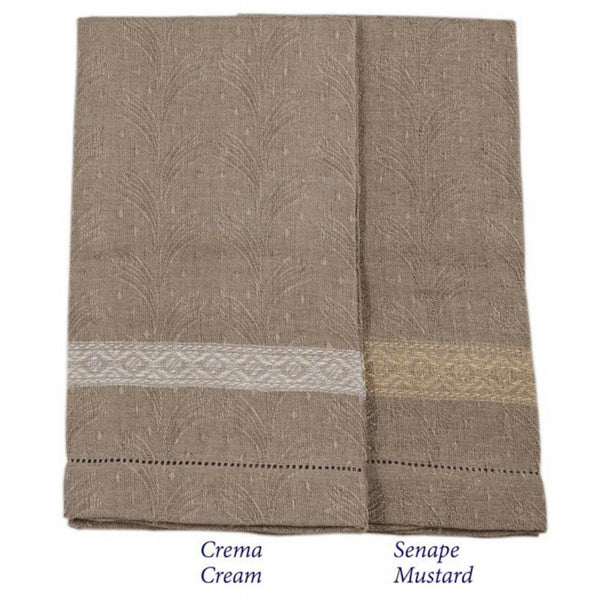 <transcy>GRIFO GUEST TOWEL WITH FLOUNCES LINEN 100%</transcy>