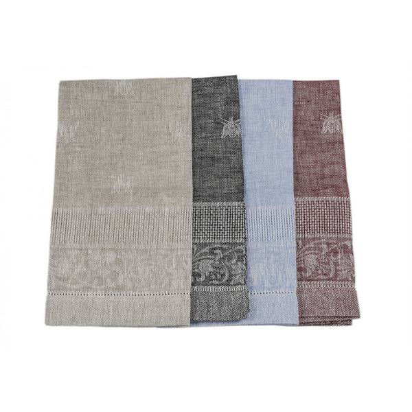 <transcy>100% LINEN BEE GUEST TOWEL</transcy>