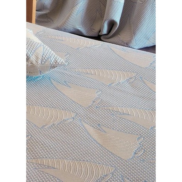 <transcy>PURE COTTON SAIL BEDSPREAD</transcy>