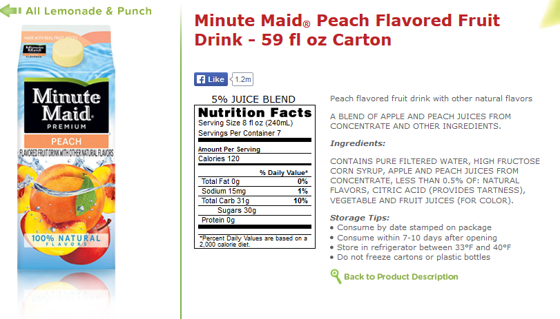 Text, Minute Maid Peach Juice Rant