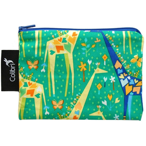 Colibri Canada Small Reusable Snack Bag - Giraffe