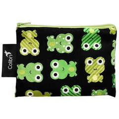 Colibri Canada Small Reusable Snack Bag - Frogs - Robinsons Nest