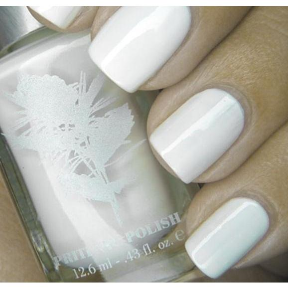 Priti NYC Vegan and Natural Nail Polish - White Ballet Dahlia - Robinsons Nest