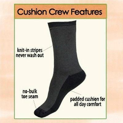 Maggie's Organic Cotton Cushion Crew Socks - Robinsons Nest - 2