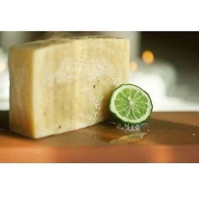 Certified Organic Handmade Soap Kaffir Lime Rosemary Palm Oil Free Bar - Robinsons Nest - 2