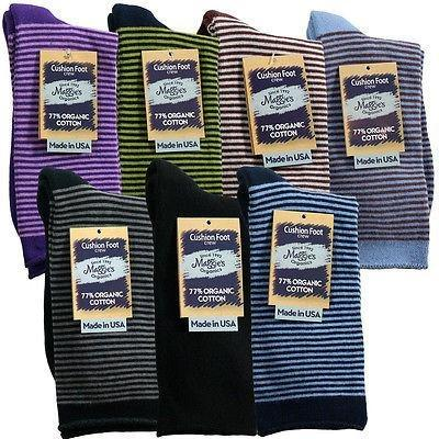 Maggie's Organic Cotton Cushion Crew Socks - Robinsons Nest - 1