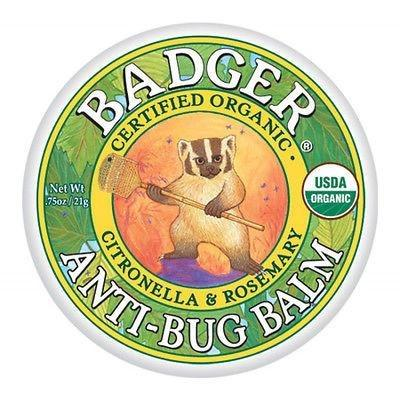 Badger Certified Organic Anti Bug Balm with Citronella & Rosemary 2 Sizes - Robinsons Nest