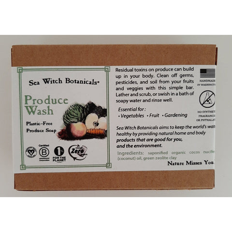 Plant-Based Organic Body Soap - Fungi Collection by Sea Witch Botanicals