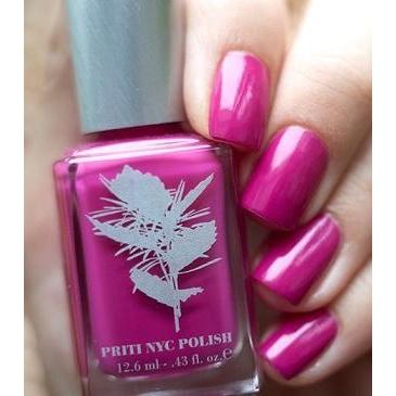 Priti NYC Vegan and Natural Nail Polish - Sweet Gesture Rose - Robinsons Nest