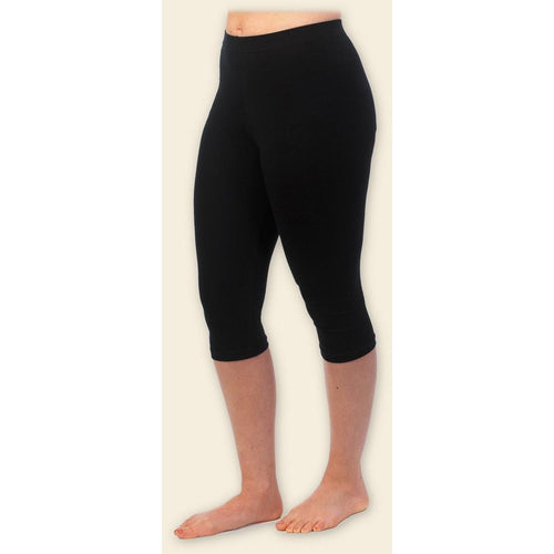 Maggie's Organics Capri Leggings 95% Organic Peruvian Cotton 5% Spandex - Packaging is Not Intact - Robinsons Nest