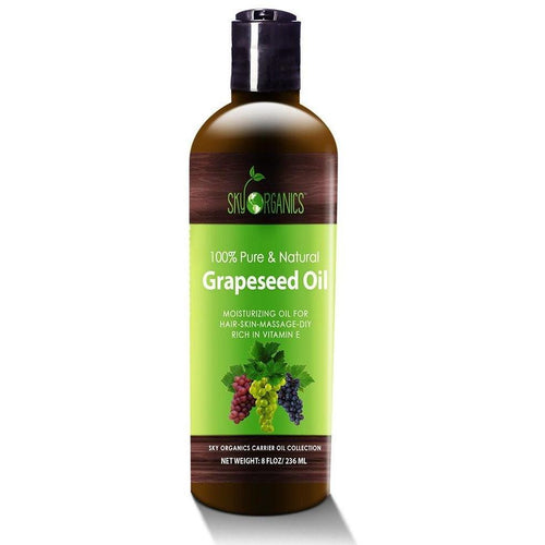 Pure & Natural Grapeseed Oil by Sky Organics - Robinsons Nest
