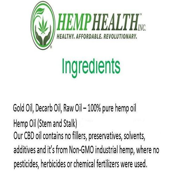 Hemp Health 25% Pharma CBD Pure Gold Hemp Oil - Robinsons Nest - 3