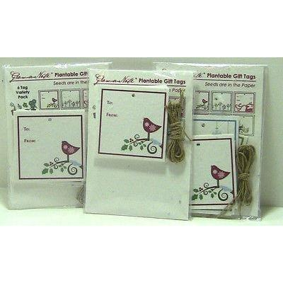Christmas Holiday Plantable Gift Tags Variety Pack of 6 Grow A Note Made in USA - Robinsons Nest - 2