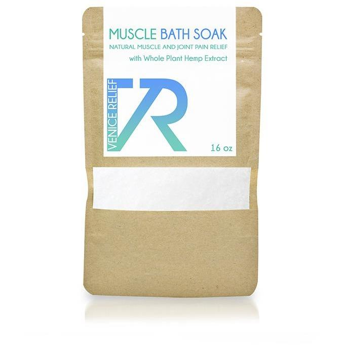 CBD Muscle Bath Soak by Venice Relief - Robinsons Nest