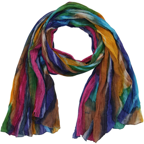Northern Lights Cotton Scarf by Global Girlfriend - Robinsons Nest