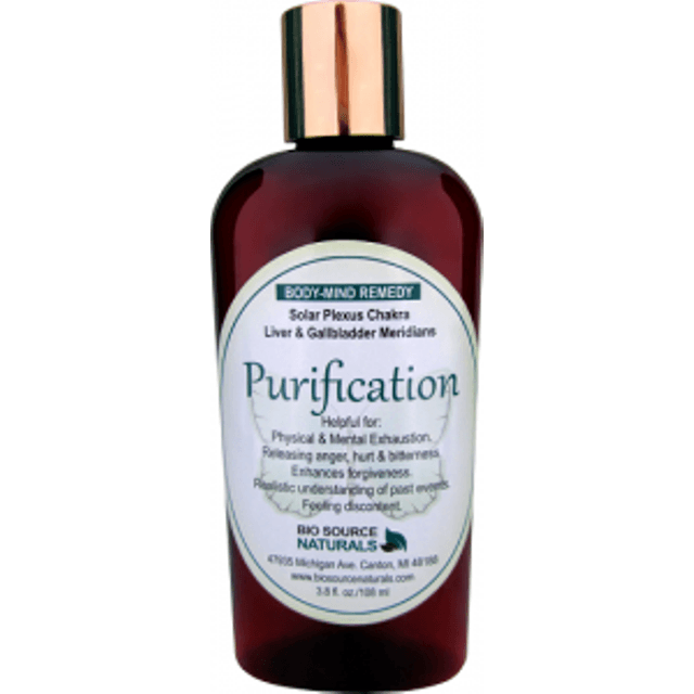 Purification Lotion with Bach Flower Essences, Pure Essential Oils & Gem Elixirs - Robinsons Nest