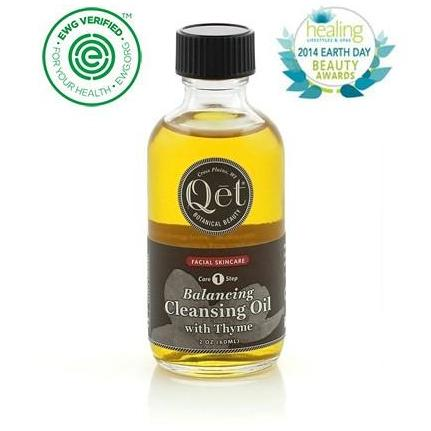 Balancing Cleansing Oil with Thyme by Qet Botanicals - Robinsons Nest