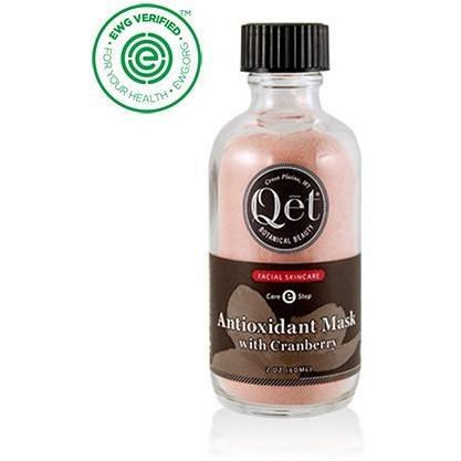 Anitoxidant Mask with Cranberry by Qet Botanicals
