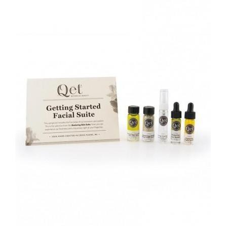 Getting Started Facial Suite by Qet Botanicals - Restoring