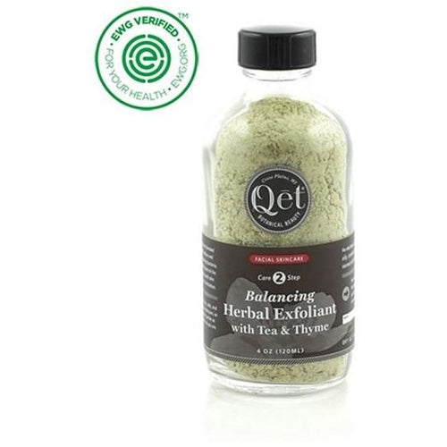 Balancing Herbal Exfoliant with Tea and Thyme by Qet Botanicals - Robinsons Nest
