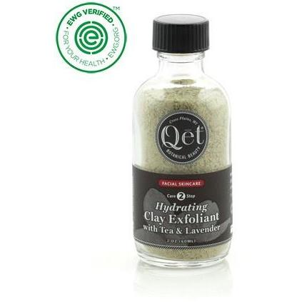 Hydrating Clay Exfoliant with Tea and Lavender by Qet Botanicals - Robinsons Nest
