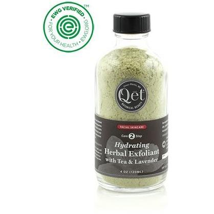 Hydrating Herbal Exfoliant with Tea and Lavender by Qet Botanicals - Robinsons Nest