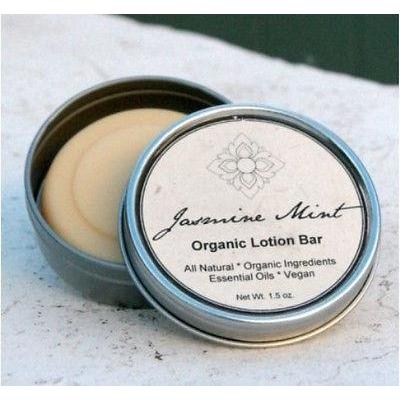 Jasmine Mint Organic Handmade Hand & Body Lotion Bar - Robinsons Nest