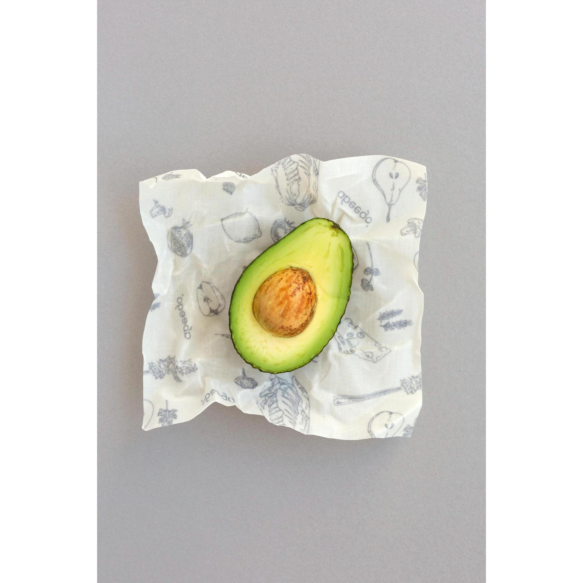 Abeego Beeswax Small Food Wraps - Pkg of 6