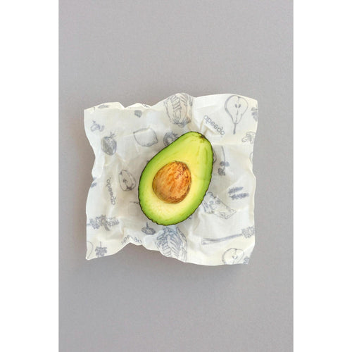 Abeego Beeswax Small Food Wraps - Pkg of 6 - Robinsons Nest