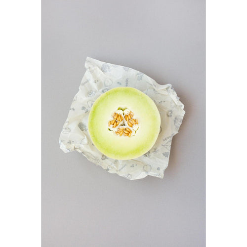 Abeego Beeswax Medium Food Wraps - Pkg of 3
